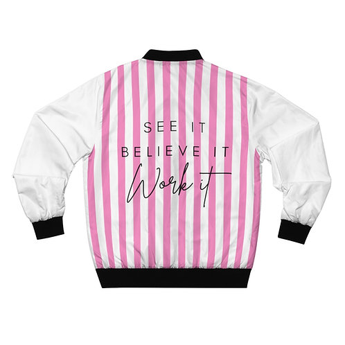 SBW Bomber Jacket Pink