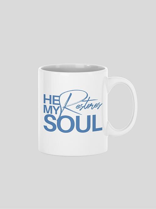 He Restores My Soul Mug