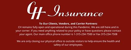 To Our Clients, Vendors, and Carrier Par