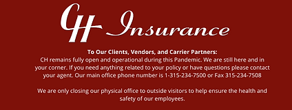 To Our Clients, Vendors, and Carrier Par