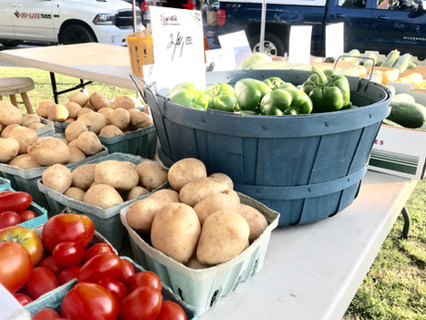 Tomatoes, potatoes, and peppers oh MY!
