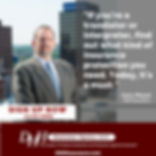 DH Insurance pointperson is Gary Meye in Rochester, NY