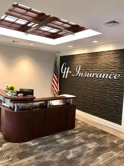 CH Insrance lobb at home office in Syracuse NY