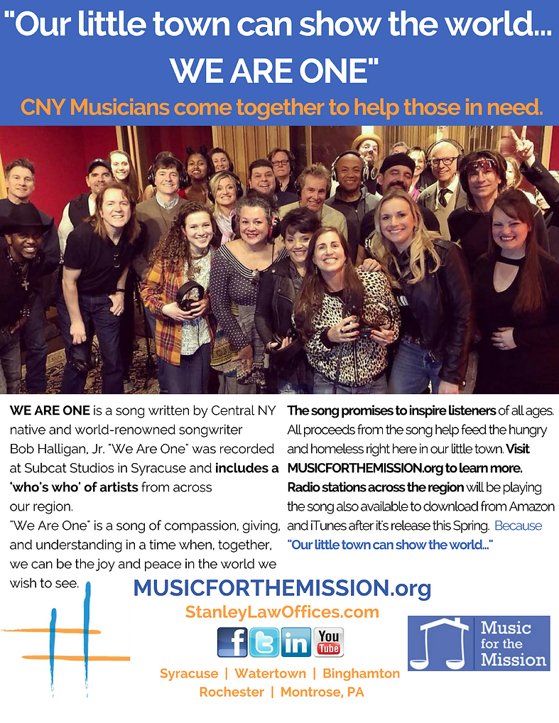 Music for the Mission We Are One