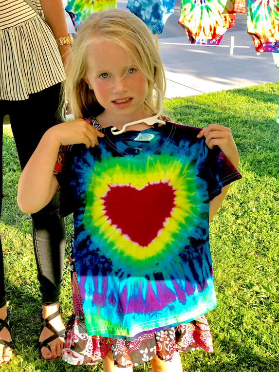 Show your tie-dye heart xo