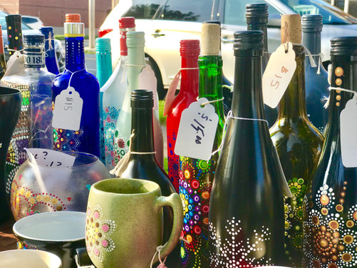 Make yourself a gorgeous bottle tree!