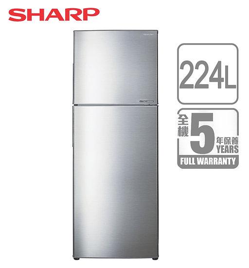 SHARP 聲寶 SJ-22G-S 雙門雪櫃