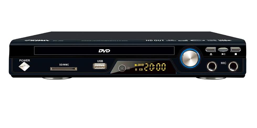 PRIMA DVD 5.1CH DK-392 Mic X 2