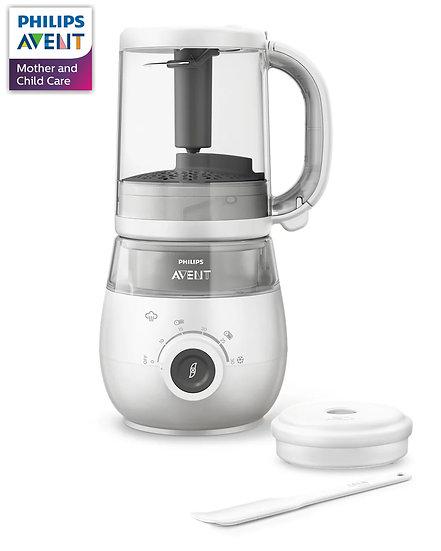 Philips Avent 4 合 1 健康嬰兒食品蒸煮攪拌器 SCF883/02