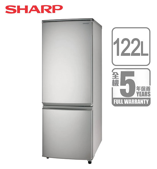 SHARP 聲寶 SJ-BR13D-S 雙門雪櫃