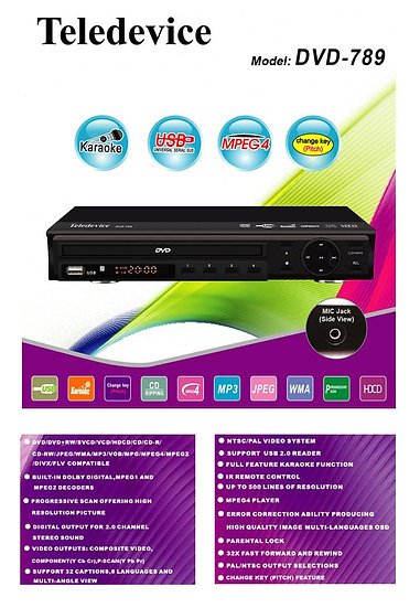 Teledevice DVD-789