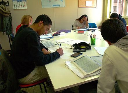 clases comentario texto soria inglés bachillerato matemáticas