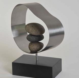 Escultura para premiación Banco Security. Año 2017. Santiago Chile.
