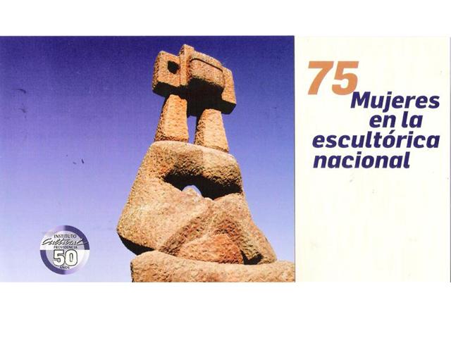 75 Mujeres en la escultura chilena
