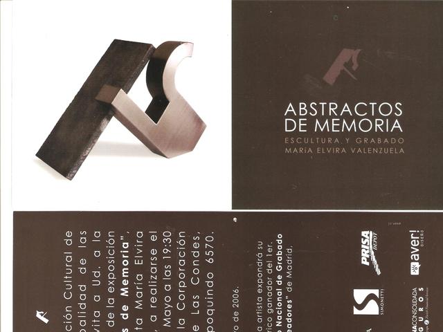 "2006 ""Abstractos de memoria"""