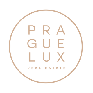 PRAGUE LUX_logo_REAL ESTATE_RGB_gold lig