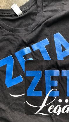 FAULTY SALE 1of1 - Zeta Legacy Tee [S]