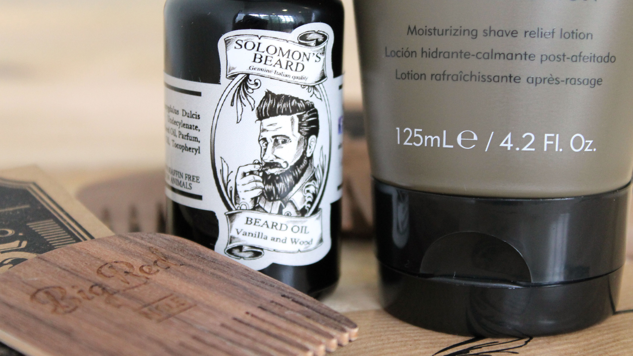 Solomons Beard Bartöl
