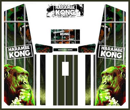 Harambe Kong Custom Upright Cabinet