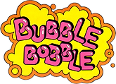 Bubble Bobble Artwork Design | Arcade Graphics