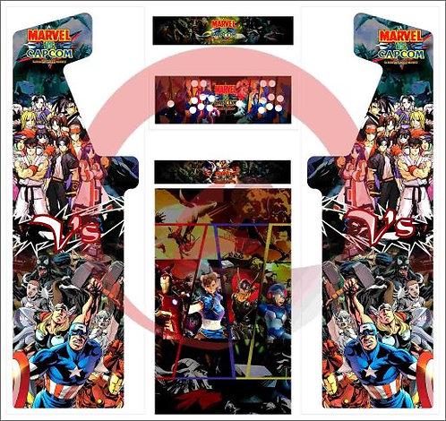 Marvel vs Capcom Minotaur cabinet