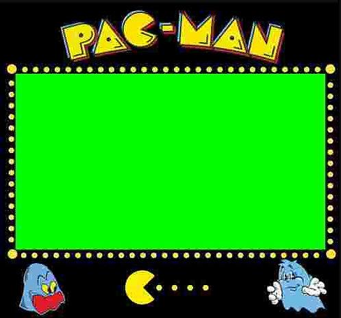Pac Man Bezel Screen