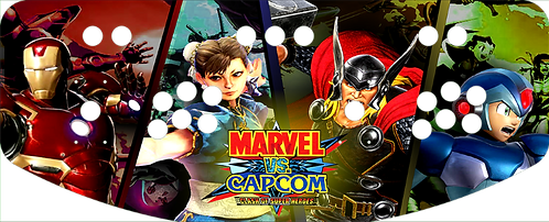 Marvel vs Capcom control panel