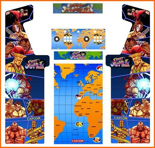 Street Fighter Minotaur Cabinet