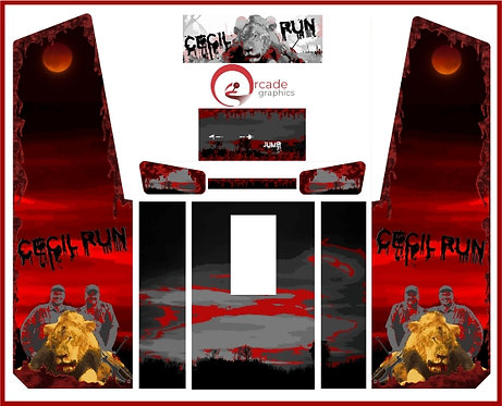 Cecil Run Custom Upright Cabinet