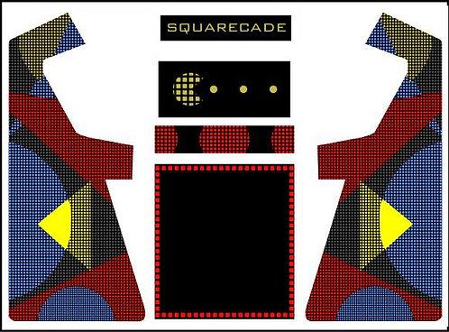 Squarecade Geometric Custom Upright Cabinet