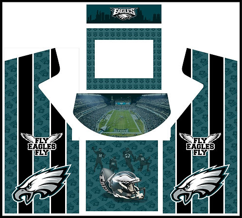 Philadelphia Eagles Upright Cabinet