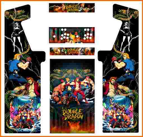 Double Dragon Upright Cabinet