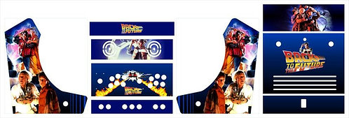 Back to the Future Bartop Cabinet