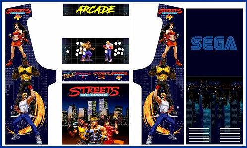 Streets of Rage Upright Cabinet