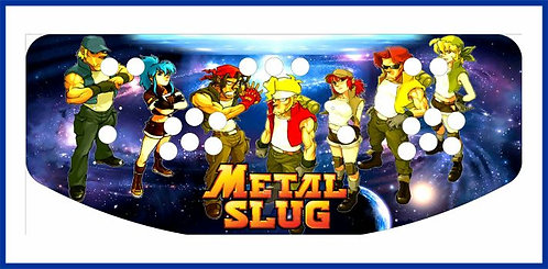 Metal Slug Control Panel