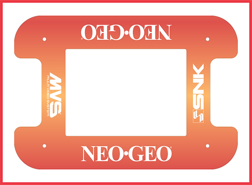 Neo Geo Cocktail Cabinet