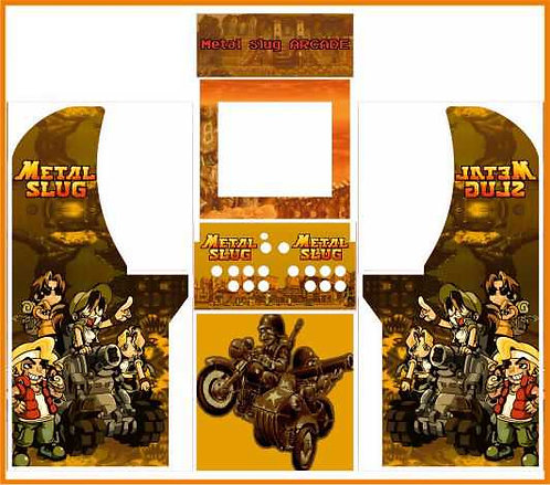 Metal Slug Arcade1up Cabinet