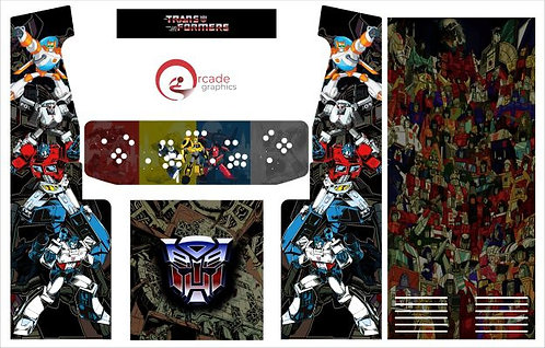Transformers Upright Cabinet
