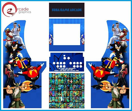Sega Multicade Arcade1up Cabinet