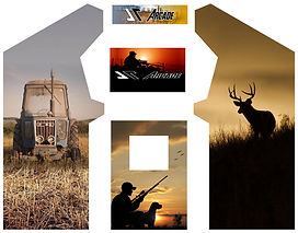 hunting & farming custom design arcade graphics