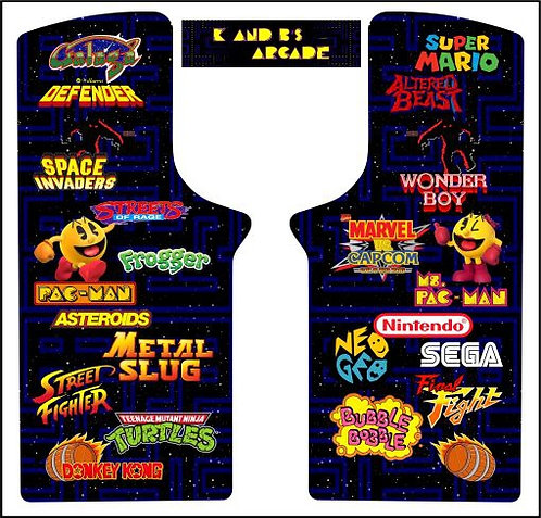 Multicade Arcade Classics Upright Cabinet