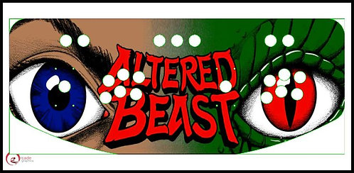 Altered Beasts Control Panel design