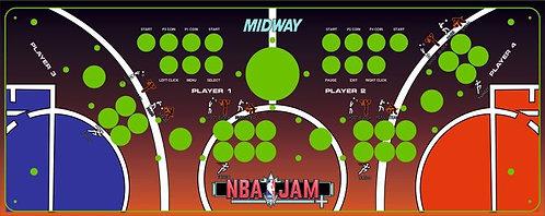 NBA Jam Control Panel