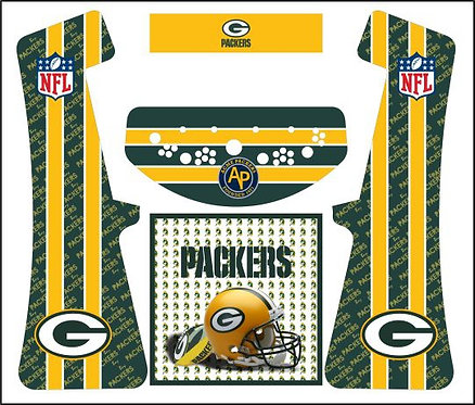 Green Bay Packers Upright Cabinet