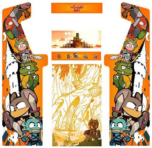 Wonderboy Minotaur Cabinet