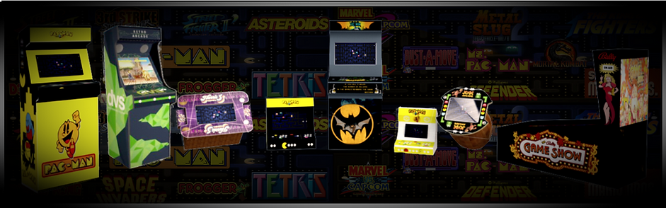 Arcade Graphics Deisgns with various templates