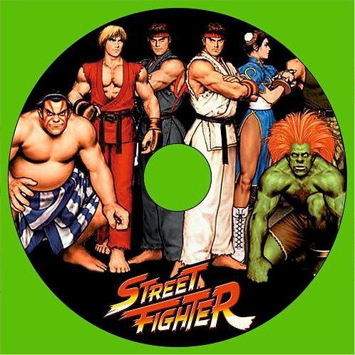 Street Fighter Disk Joystick