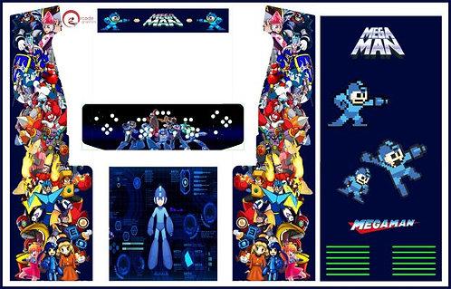 Mega Man Upright Cabinet