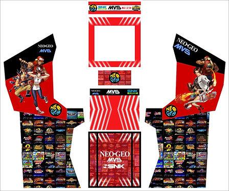 Neo Geo Upright Cabinet