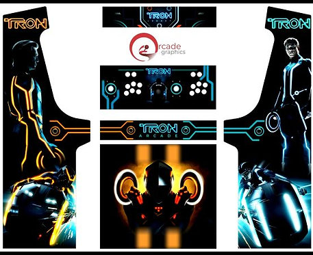 Tron Upright Cabinet